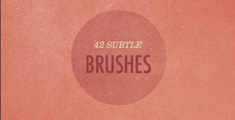 42 Free More Subtle Grunge Texture brushes