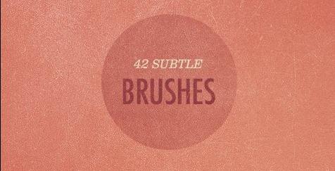 42 Free More Subtle Grunge Texture brushes