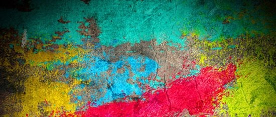 Abstract Paint Grunge Brush