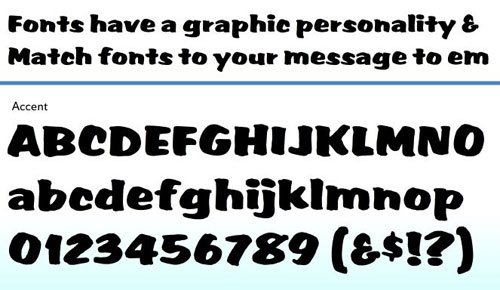 Accent Font Download Professional Free Light Fonts of 2011