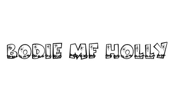 Bodie MF Holly Christmas Free Font