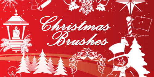 Christmas Brushes Set- 1