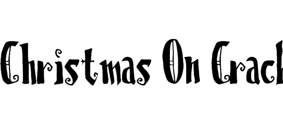 Christmas on Crack Christmas Free Font