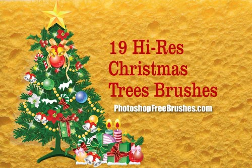 Christmas Tree PS Brushes