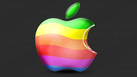 Colorful Mac Logo