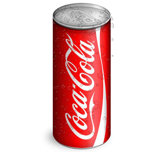 Create Realistic Coca-Cola Can from Scratch Using Photoshop