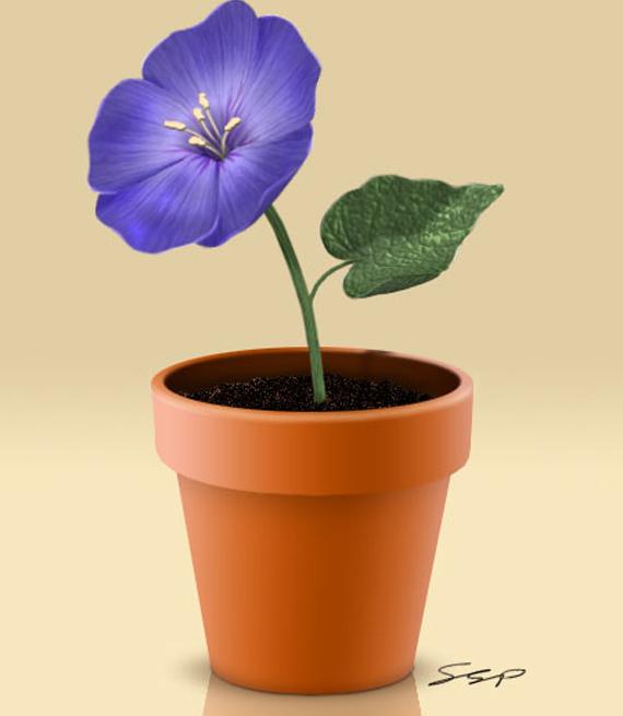 Top 30 Photoshop Tutorials of 2011 Flowerpot