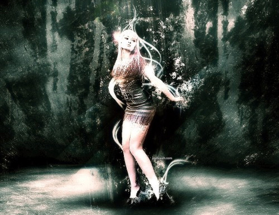 Create a Great Lighting and Shattered Effect in Photoshop