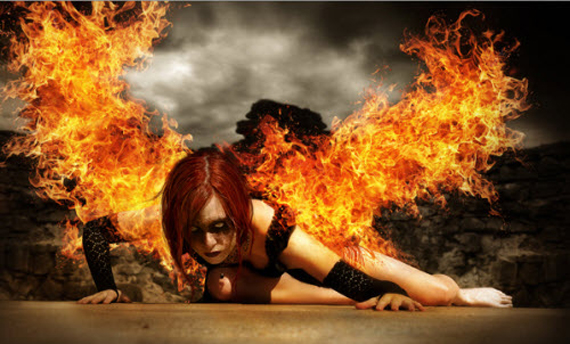 Create an Intense Wings of Fire
