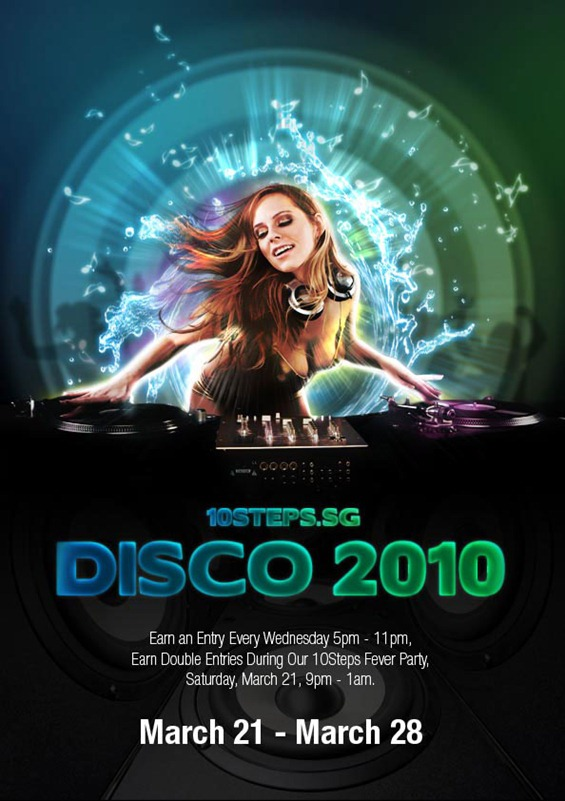 Creating an Impactful Disco Party Poster