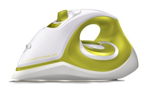 Draw a Realistic Steam Iron in Photoshop