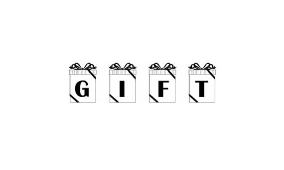 Gift  Christmas Free Font