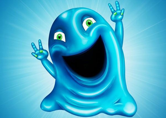 Cute Gooey Blob from Scratch Using Photoshop