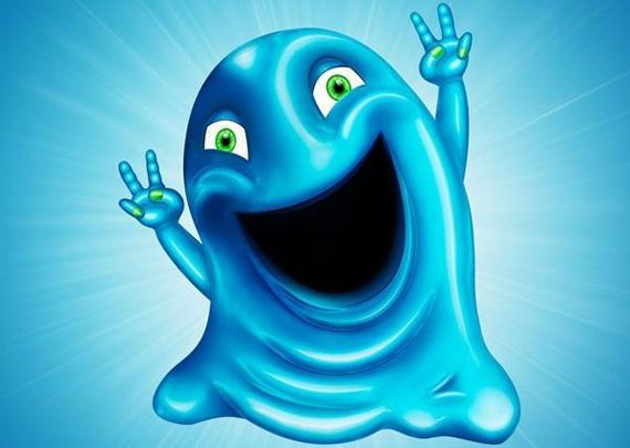 Cute Gooey Blob from Scratch Using Photoshop