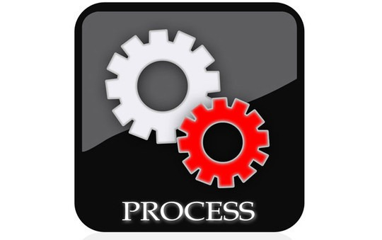 How to create a process icon