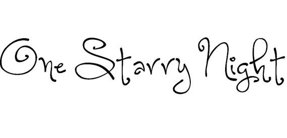 One Starry Night Christmas Free Font