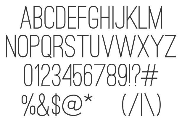 Ostrich Sans Download Professional Free Light Fonts of 2011