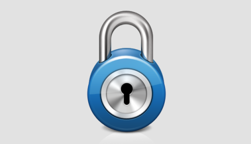 Shiny Lock Icon Design Tutorial