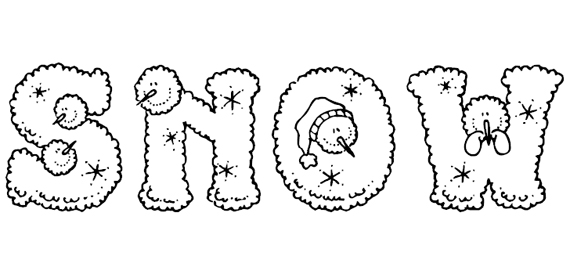 Snow persons Christmas Free Font