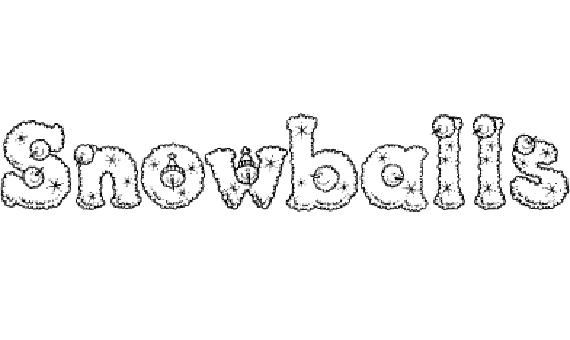 Snowballs Christmas Free Font