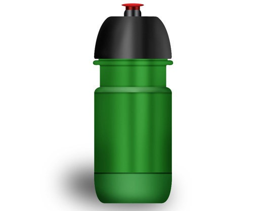 Stock vector water bottle
