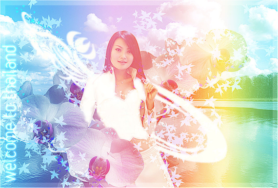 Styled Angelic Artwork From Ordinary Photos
