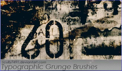Typographic-Grunge-Brushes