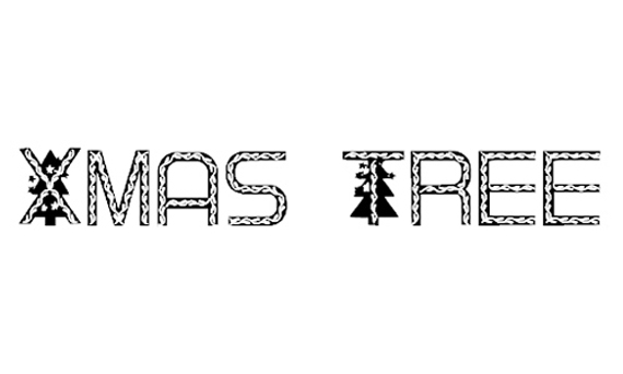 Xmas Tree Christmas Free Font