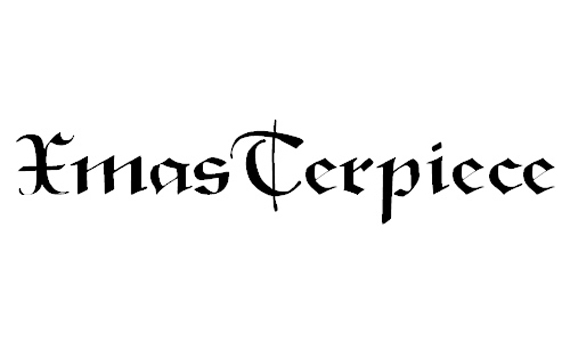 XmasTerpiece Christmas Free Font