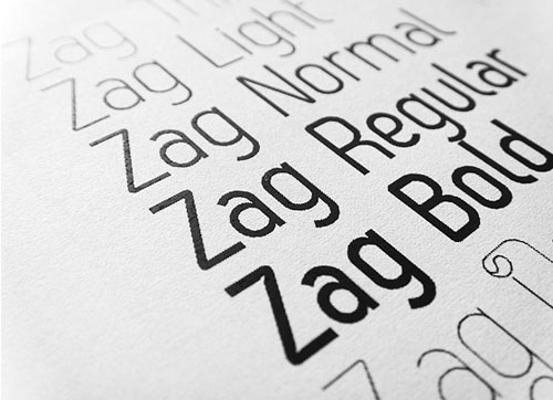 Zag Font Download Professional Free Light Fonts of 2011