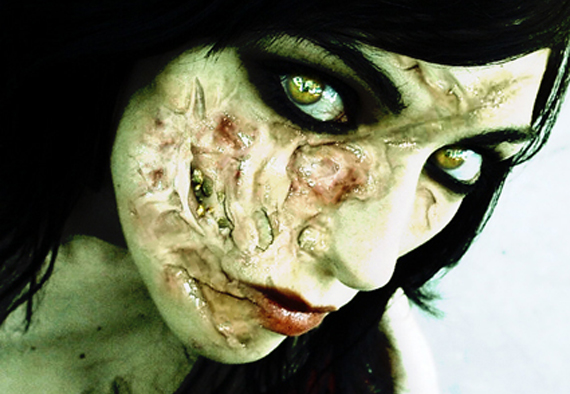Zombie Face Photoshop Tutorial