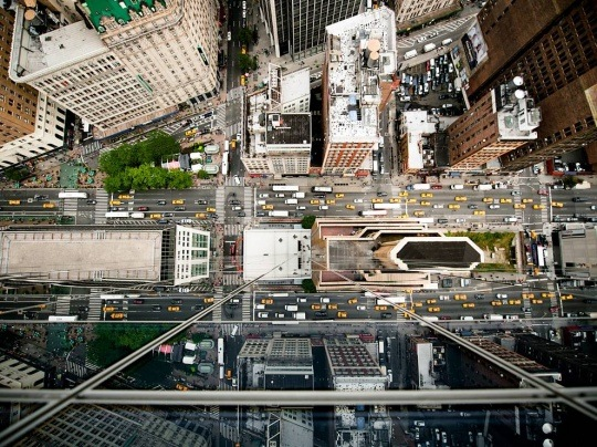 Aerial View, New York City by Navid Baraty
