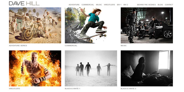 Dave Hill Amazing Photographer Portfolio Websites