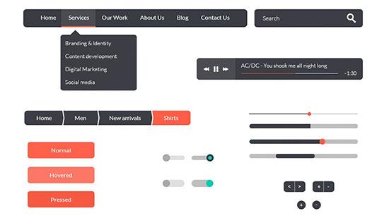 Flat-UI-Kit-PSD-Pro-Web-Design