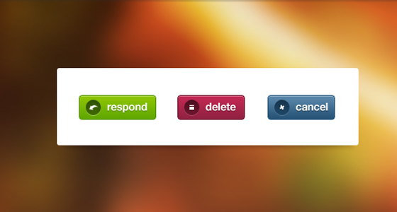 Form Message Buttons Free PSD files Download