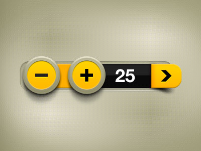 Free-Buttons-PSD-yellow