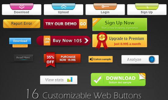 Free-PSD-Web-Buttons