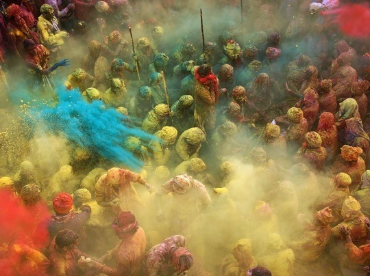 Holi Celebration, India by Anurag Kumar
