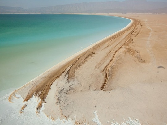 Lake Assal, Djibouti by George Steinmetz