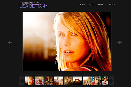 Lisa Bettany Amazing Photographer Portfolio Websites