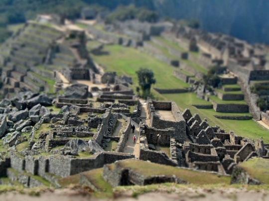 Machu Picchu, Peru by Claire Wroe