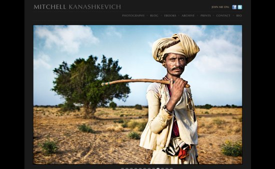 Mitchell Kanashkevich Amazing Photographer Portfolio Websites