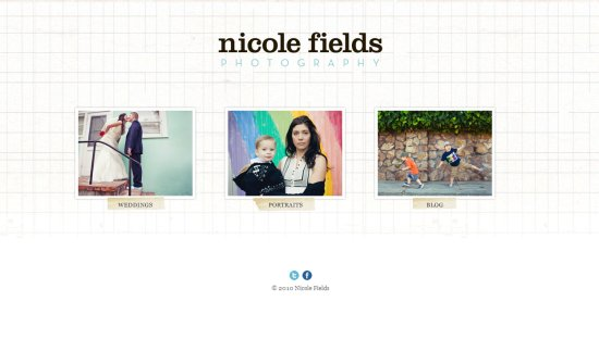 Nicole Fields Photography Amazing Photographer Portfolio Websites
