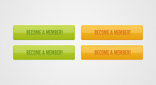 Plastic Buttons Free PSD files Download