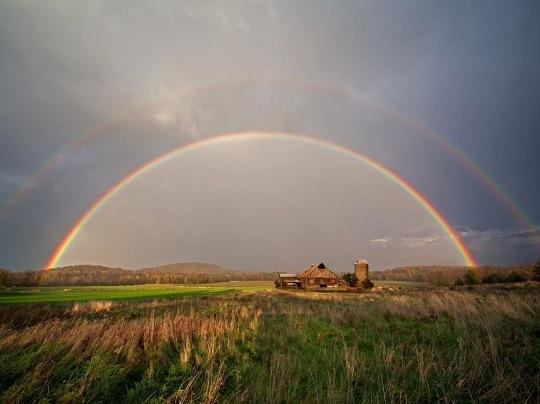 Rainbow, Lake Champlain by Alan Nyiri
