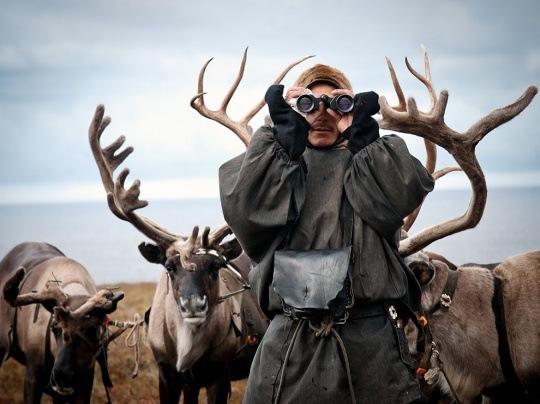 Reindeer Herder, Siberia by Dmitriy Nikonov