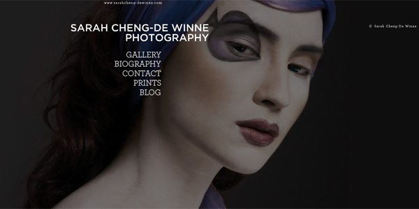 Sarah Cheng Amazing Photographer Portfolio Websites