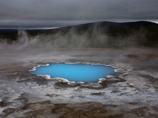 Silica Pond, Iceland by David Remacle