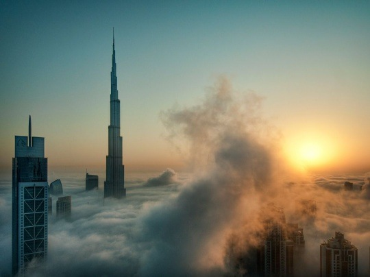 Skyscrapers, Dubai by Catalin Marin