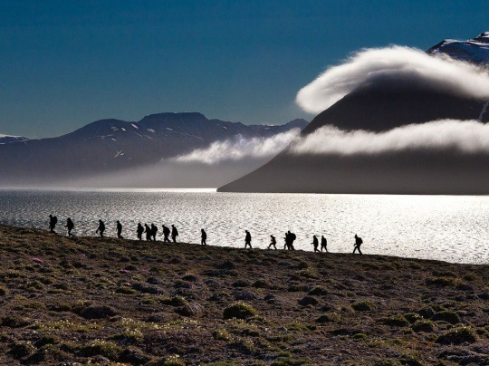 Tundra Trek, Svalbard by June Jacobsen